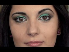 Makeup tutorial for hazel eyes/occhi nocciola - Green Harmony