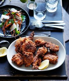 Fried rabbit recipe | Ester, Sydney | Mat Lindsay - Gourmet Traveller