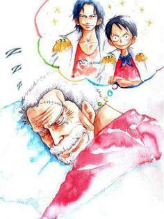 Garp's dream One Piece