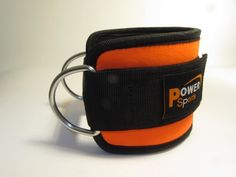Ankle Strap Neoprene Orange/Black Combination Single - Cable Extension For Leg Pulley Exercise $17.99 (28% OFF)