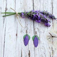 Orecchini Chicco Sole Viola e Verde