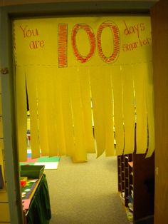 100th Day Decoration
