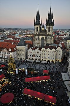 Prague Christmas Market, Czech Republic. Looking forward to visiting Prague in September 2014!!