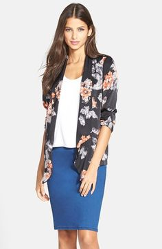 ASTR Drape Front Blazer available at #Nordstrom