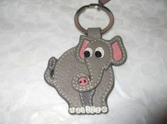 Coach Elephant Key Fob