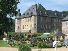 Gartenlust Schloss Dyck, D-41363 Jüchen im Rhein-Kreis Neuss, Nordrhein-Westfalen/ NRW, 26.05.-29.05.2016