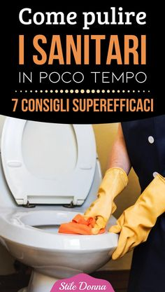 #pulire #casa #bagno #consigliutili #stiledonna