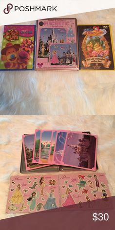 Disney Magnetic Storybook with Bonus Disney Magnetic Storybook with 2 DVDs bonus, Animal Jam & Mother Goose Stories (cross posted) Disney Other