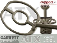 New Garrett ATX Metal Detector with new Double D Coil for extreme Sensitivity on small Gold objects ! See http://www.nuggets.at/GARRETT-ATX-PI-Pulsinduktions-Gold-Detector