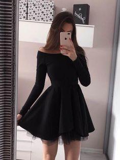Little Black Dress Prom Dress