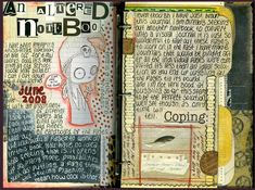 NOTEBOOK NO.1 altered books and journals #journal