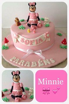 Bolo cake Minnie