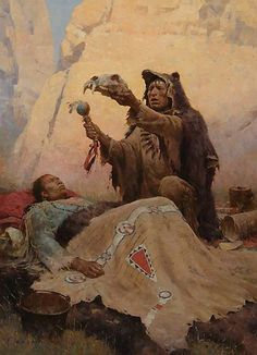 Liang, ZS (b,1953)- Bear Medicine Man (Shaman)