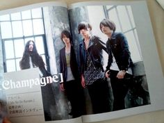 [Champagne]2013/7/16 MUSICA8月号 前号の表紙巻頭に続いての[Champagne]、今月はメンバー全員による『Me No Do Karate.』全曲解説インタビューです。制作時のエピソード含め語ってもらいました。有泉智子