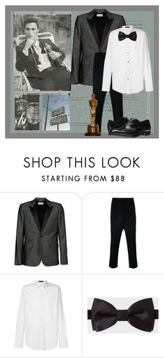 """""""I'm On Fire"""" by dmiri ❤ liked on Polyvore featuring Junk Food Clothing, Yves Saint Laurent, AMI, Versace, Paul Smith, Emporio Armani, men's fashion and menswear"""