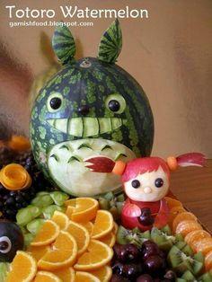Totoro watermelon
