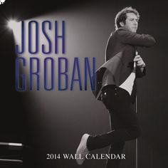 Go see @Josh Groban's 2014 Josh Groban Calendar