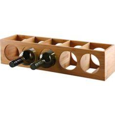 Buy 10 Bottle Bamboo Wine Rack at Argos.co.uk - Your Online Shop for Wine racks and barware.