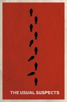 Minimalist film posters by Matt Owen