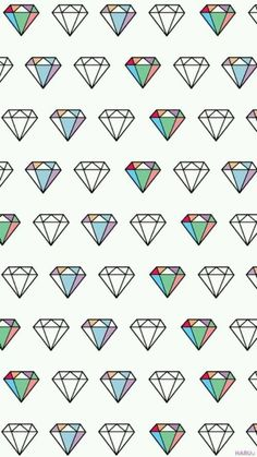 Allover diamonds