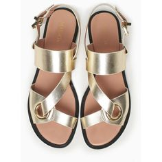 Designer Clothes, Shoes & Bags for Women Leather Sandals Flat, Flat Shoes, Flat Sandals, Leather Shoes, Strap Sandals, Women's Shoes Sandals, Shoe Boots, Leather Slippers For Men, Pretty Sandals