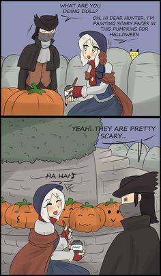Bloodborne Halloween issues by Tikoriko