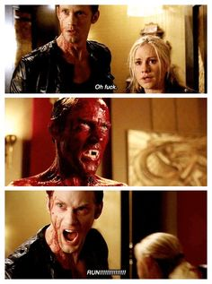 True Blood season 5 episode 12- Save Yourself. Eric, Sookie and Billith