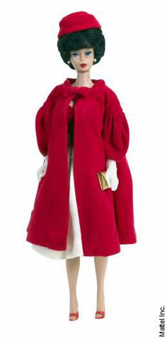 Red Flare Barbie (1962)
