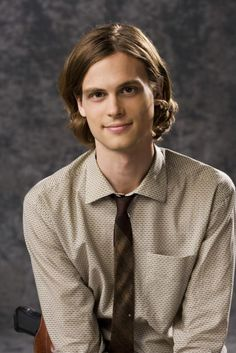Spencer Reid, the boy genius from Criminal Minds (aka Matthew Gray Gubler)
