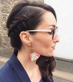 Side braid by Agathe Dessalces