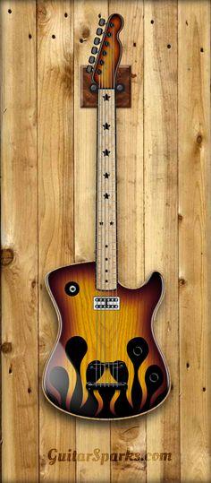 Design your next custom guitar at GuitarSparks.com
