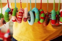 Little Baby Wreaths! Perfect for crafts with your little ones :)