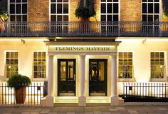Flemings Mayfair Hotel is said to be one of the best boutique hotels in London and is an award-winning London accommodation with luxurious hotel rooms London Accommodation, Winning London, Mayfair London, Grill Restaurant, Best Boutique Hotels, London Hotels, Mansions, Luxury, House Styles