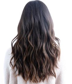Wavy Black Hair With Brown Balayage http://rnbjunkiex.tumblr.com/post/157432256917/beautiful-short-hairstyles-for-oval-faces-short
