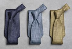 Ermenegildo Zegna ties from the SS14 collection #accessories #menswear #style