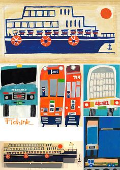 Mizuki Goto  Japanese Collage Artist Check out my blog ramblings and arty chat here www.fishinkblog.w... and my stationery here www.fishink.co.uk , illustration here www.fishink.etsy.com and here http://www.fishink.carbonmade.com/projects/4182518#1 Happy Pinning ! :)