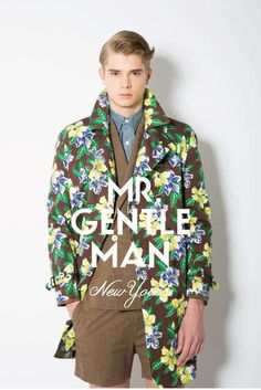 The MR. GENTLEMAN 2013 Spring/Summer Preview is Street-Infused #coats #mensfashion trendhunter.com