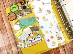five sixteenths blog: Fall Planner Line Up // Free Fall Countdown Stickers