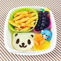 panda bear bento lunch | Merry Antoinette