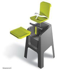 high chair option 2 :nuna highchair #highchair #feeding #baby