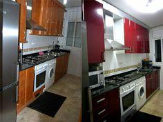 ¿Cansado de la decoración de tu cocina? Te contamos los pasos para forrar los muebles con vinilo.