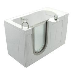 Ella's Bubbles 0310 Elite Acrylic Soaking Walk-In Tub