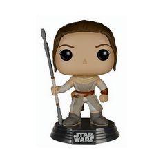Figurine Pop! Star Wars EP7 Rey