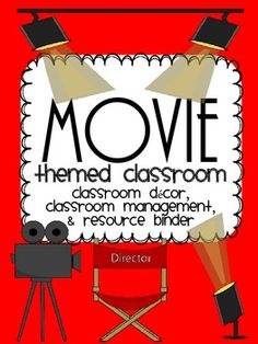 Use this huge pack to deck out your Movie or Hollywood themed classroom! This pack includes so many great things from classroom labels and decor to behavior management systems to make your Movie theme come to life! Here's what you get: Decor/ Star Themed Classroom, Stars Classroom, Classroom Labels, Classroom Jobs, 4th Grade Classroom, Classroom Design, Classroom Displays, Classroom Decor, Classroom Management