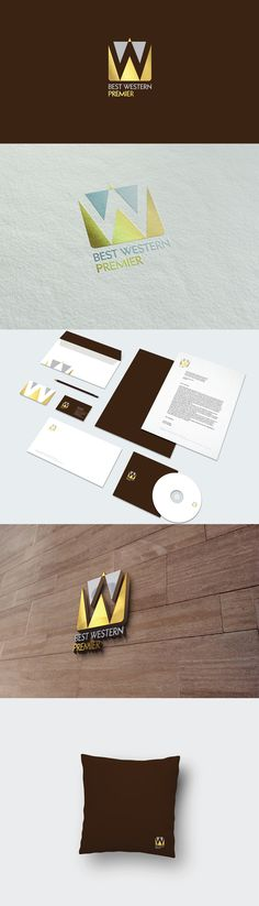 Best Western Premier hotel Re branding. Including stationery, various applications as well as visual advertisement.