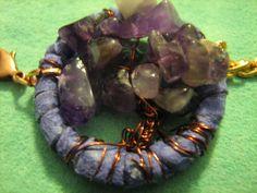 Amethyst Tree of Life Dreamcatcher Bracelet by DreamCatcherMan, $39.00