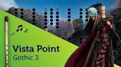 Vista Point (Gothic 3) on Tin Whistle D + tabs tutorial