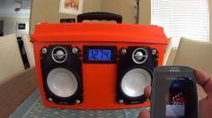 DIY Portable Boombox