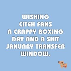Hate Man City this Christmas