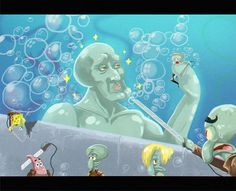 Oh no! is back!! by jcm2.deviantart.com on @deviantART (Attack on Titan/Spongebob Squarepants)